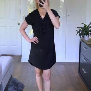 Summer Tunic Lace-up Dress